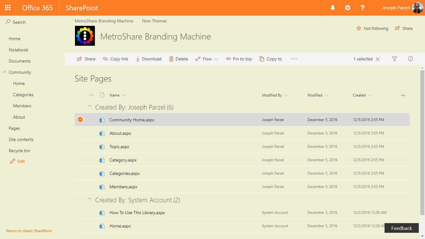 CASE STUDY: Can we brand Modern SharePoint pages using SP
